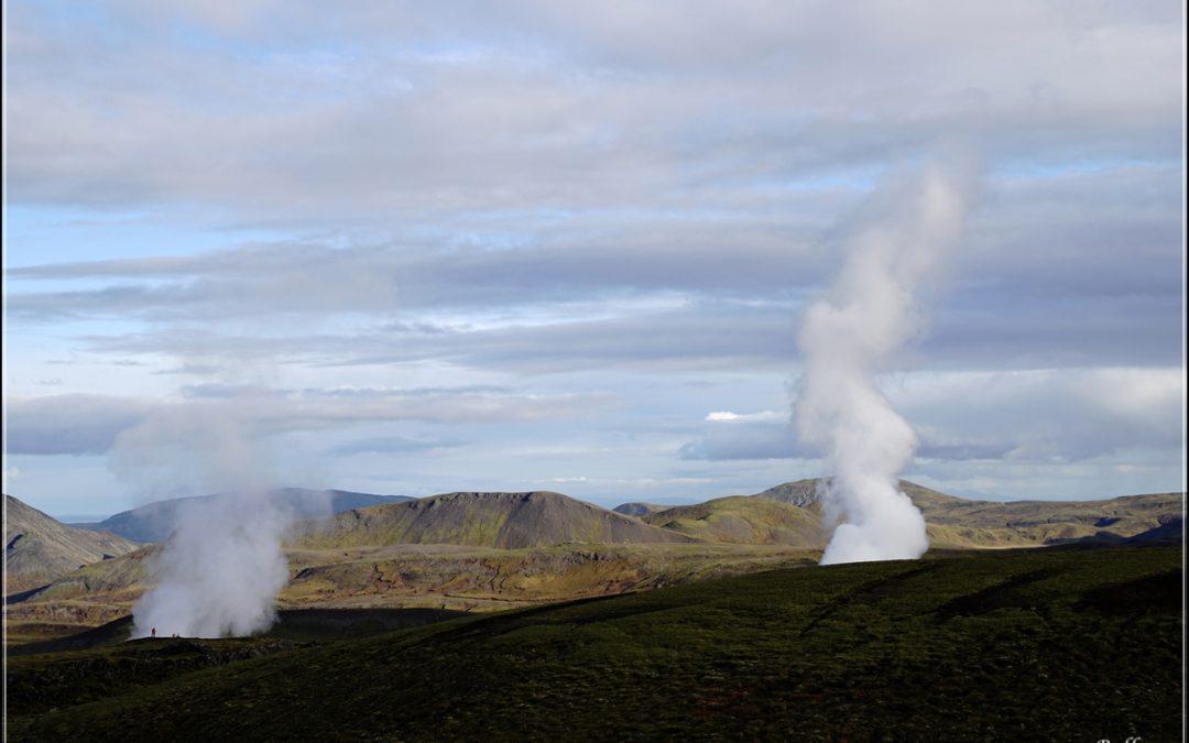 Island im Herbst